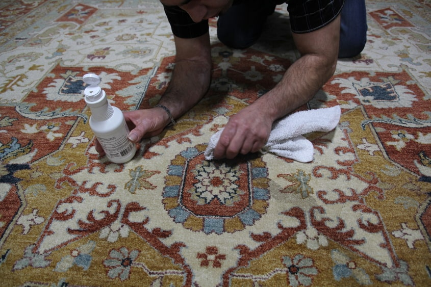 Emergency Stain Tips | Khazai Rug Cleaning