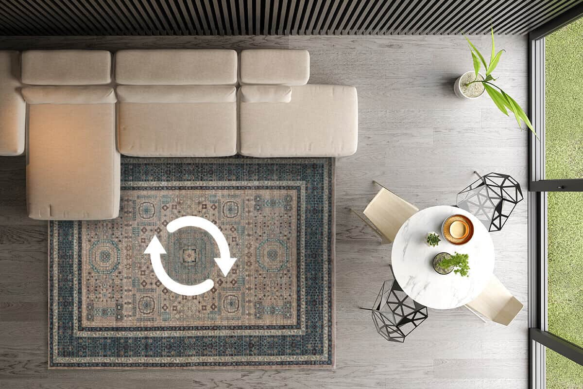 HOW TO: Rotate Your Rug