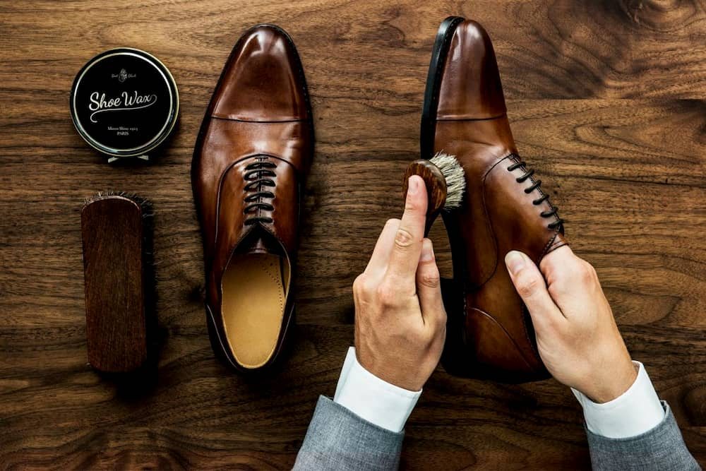 how to get shoe polish out of rug