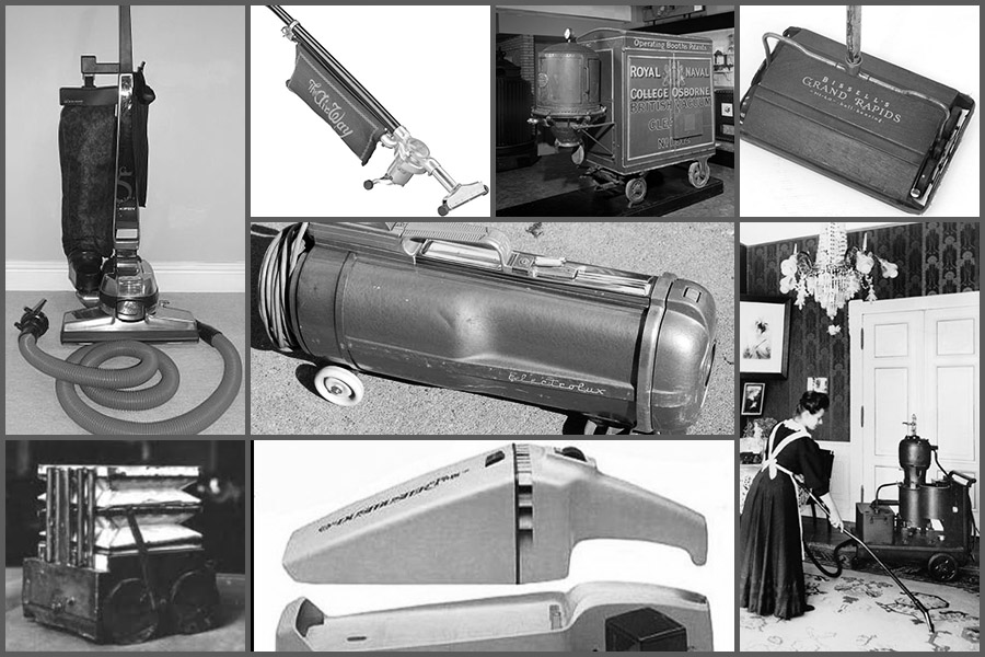 Evolution Of The Vacuum Cleaner