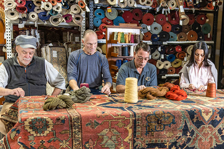 The Ultimate Guide To Rug Repair